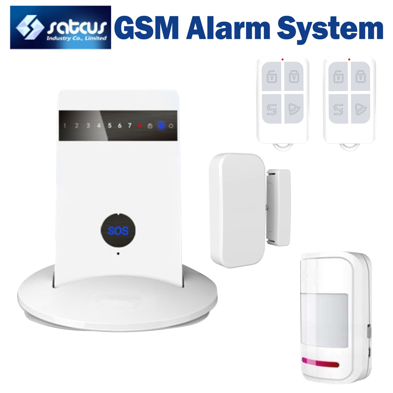 New ios apps supported smart wireless gsm alarm home for Smart home alarm system