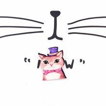 Di vendita superiore 1PCS Harajuku Fumetto Impilati Gatto Acrilico Spille Distintivi e Simboli Zaino scarpe cappello Vestiti Spilla Spilli per le donne ragazze(China)