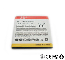 Free shipping New listed with decoding mobile phone battery for LG Nitro HD P930  1900MAH battery