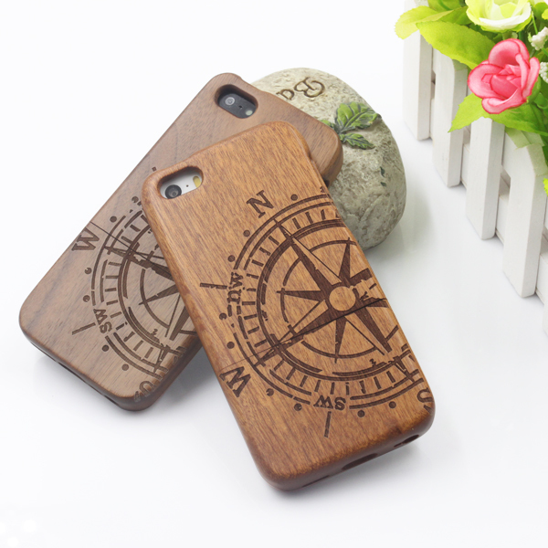 Hight Quality New Style Bamboo Traditional sculpture Wood Hard Back Wooden Case Cover phone Case for iphone 5 5S 5G PC0228(China (Mainland))