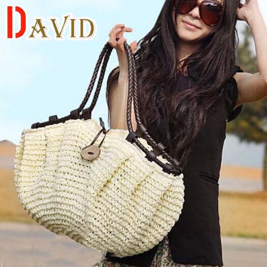 women bag summer style handbags fashion 2016 totes designers Straw bag woven beach bag famous designer brands high quality(China (Mainland))