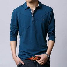 Plus Asian Size M 6XL 2015 Solid font b Polos b font font b Shirt b
