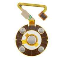 Free Shipping New Parts Replacement Click Wheel Ribbon Flex Cable for iPod Nano 5th Gen(China (Mainland))