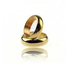 Strong asistente magnética ronda anillo PK oro trucos de magia anillo