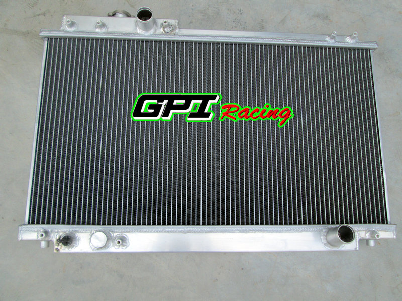 NEW GPI BRAND FOR 2ROW TOYOTA SUPRA MKIV 3.0L 2JZ-GE NA MT 1993-1996 94 95 Aluminum Racing Radiator(China (Mainland))