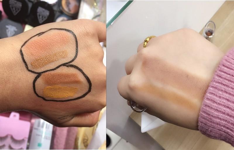 Aparador De Livros Harry Potter ~ Mulheres Marca base de Maquiagem Pro Concealer Make Up Facial Dermacol Corretivo Bronzer