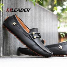Hommes Casual mocassins chaussures nouveaux 2015 printemps hommes en cuir Mocassin de conduite chaussures Classic Slip on appartements mocassins Mocassim Masculino(China (Mainland))