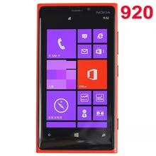 Original Lumia 920 Cellphone Nokia 920 Windows Phone ROM 32GB 8.7MP WIFI Unlocked 3G 4G Refurbished Mobile Phone(China (Mainland))