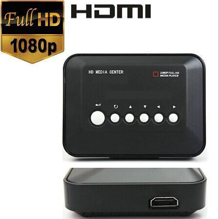 AD 1080P Portable Full HD Multi Media Player Box TV Stick Car Home HDMI AV SD USB Host HDD Hard Driver Mini Advertising Machine(China (Mainland))