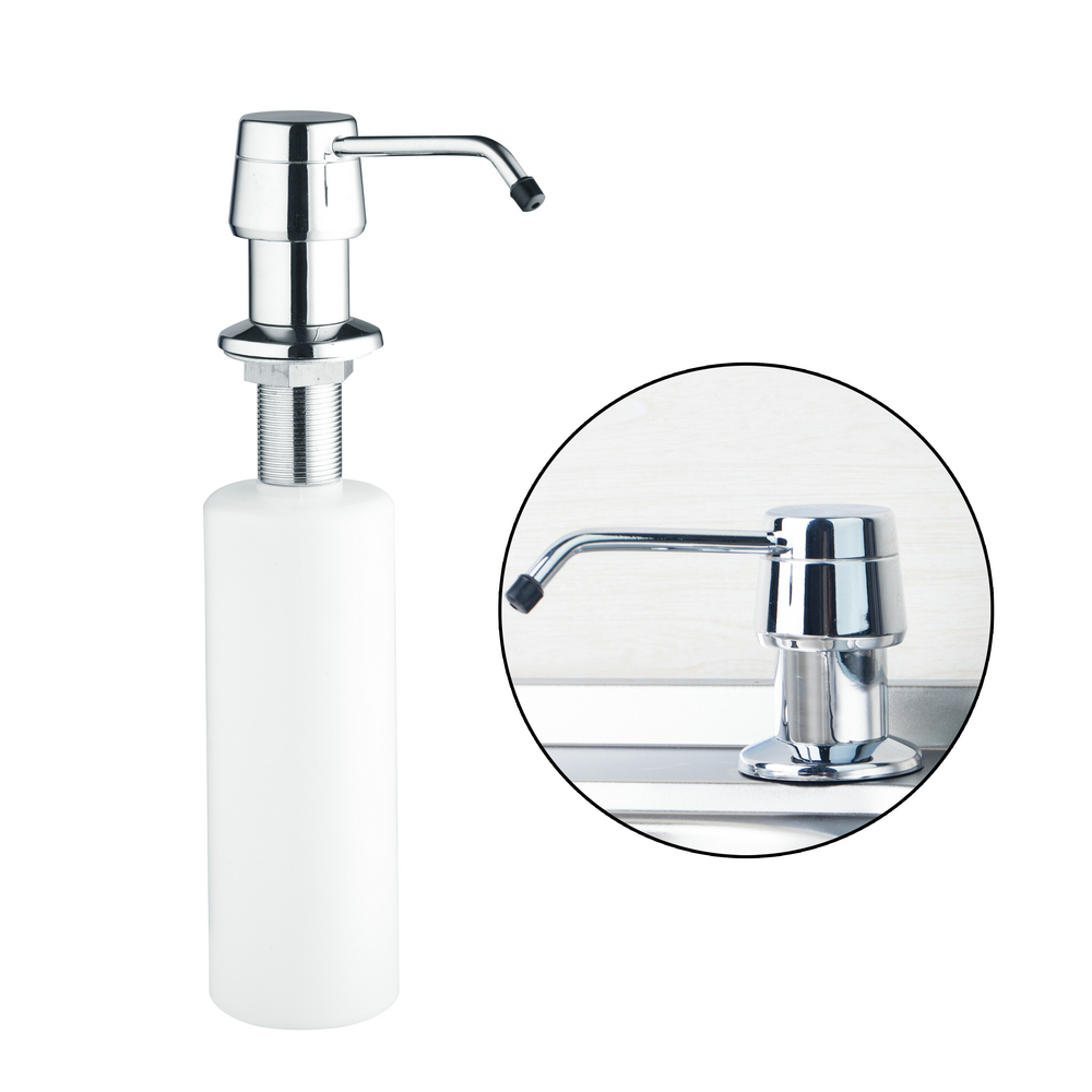 Hello 5658 A Single Bottle Stainless Steel Part Liquid Soap Dispensers Hand Soap Dispenser For
