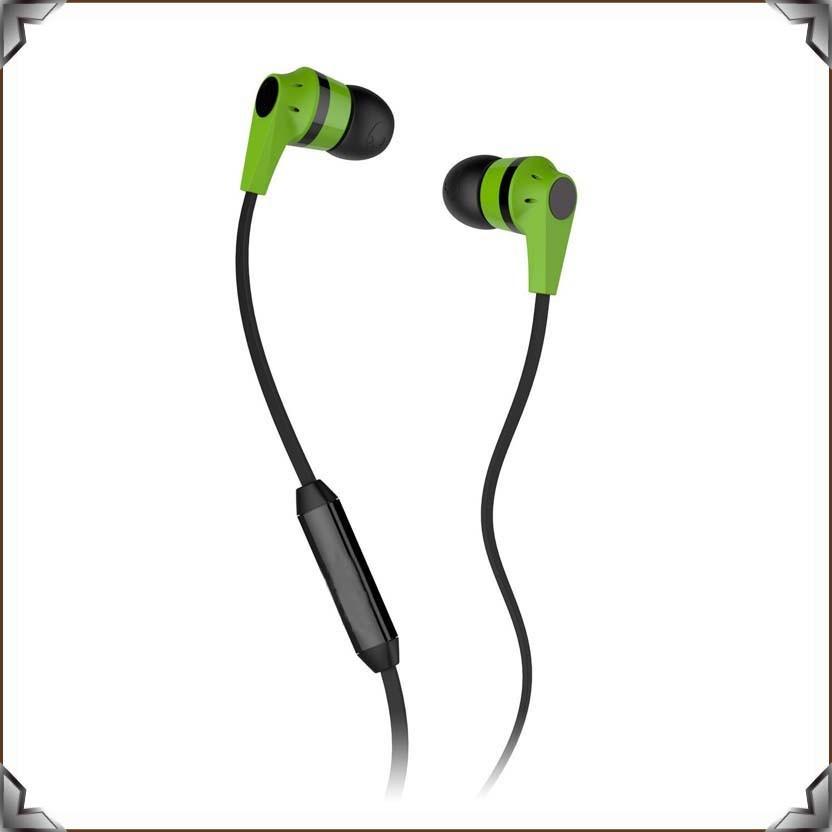 Candy Colors In Ear Earphones Skull Shape Skull Earphones Headphone(China (Mainland))