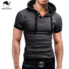 Марка 2016 мужская рубашка поло с коротким рукавом сплошной Poloshirt мужчины поло Homme тонкий мужская одежда Camisas с капюшоном Camisa рубашки поло XXXL(China (Mainland))