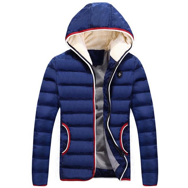 Новый 2016 весна зимняя куртка мужчины марка высокое качество вниз мужской одежды ...