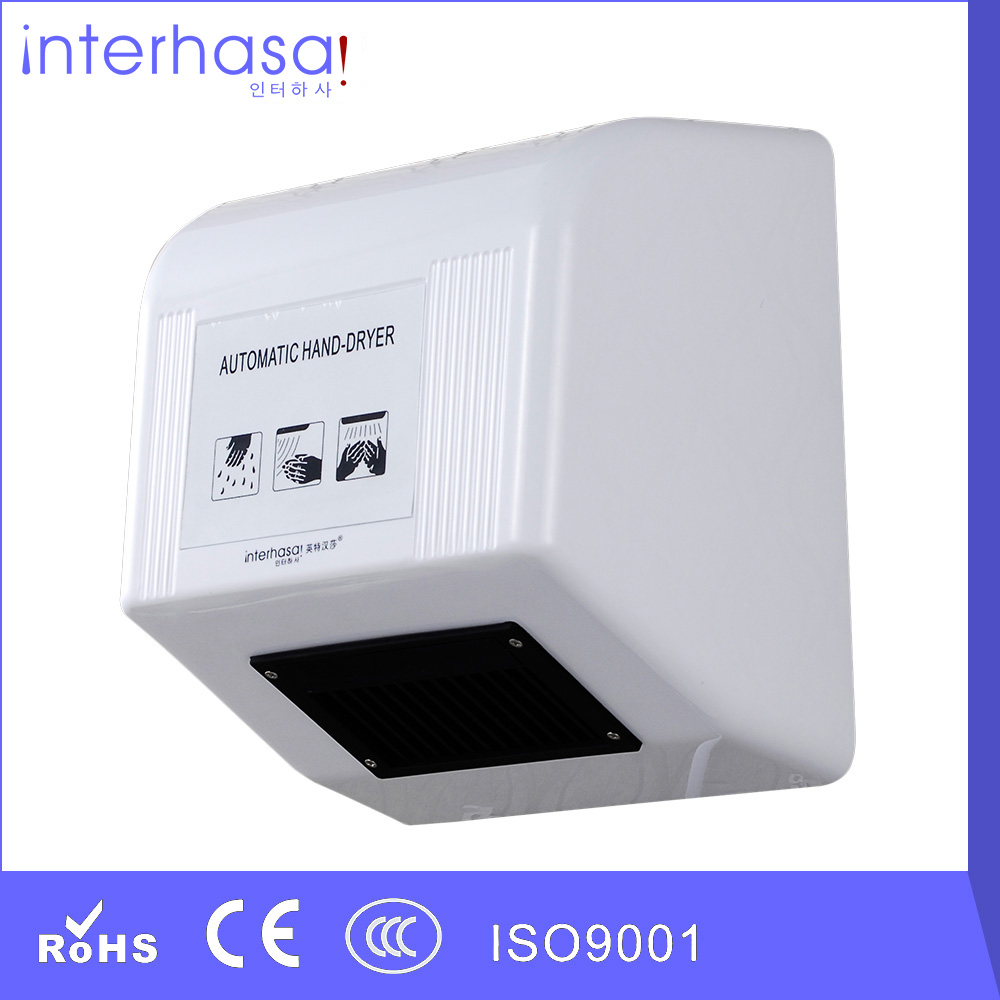 New Hotel High Quality low Speed factory CE RoHS Hand Dryer for toilet bathroom(China (Mainland))