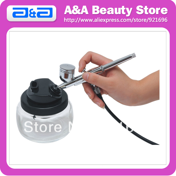 Airbrush Clean Pot, Special airbrushes cleaning bottle. Make it be very convenient to clean the used airbrush