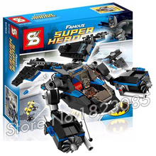 25Batman SY300 DC ComicsThe Bat vs Bane Tumbler Chase Model Building Bricks Minifigures Toy Compatible Lego - Cheery baby store
