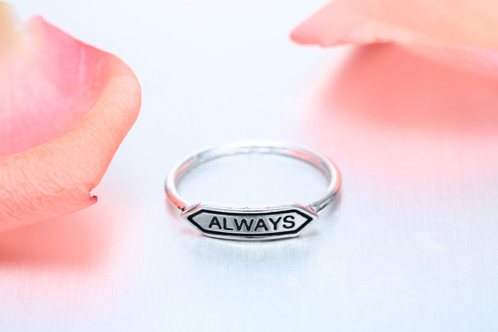 Harry Potter Always Ring Jewelry