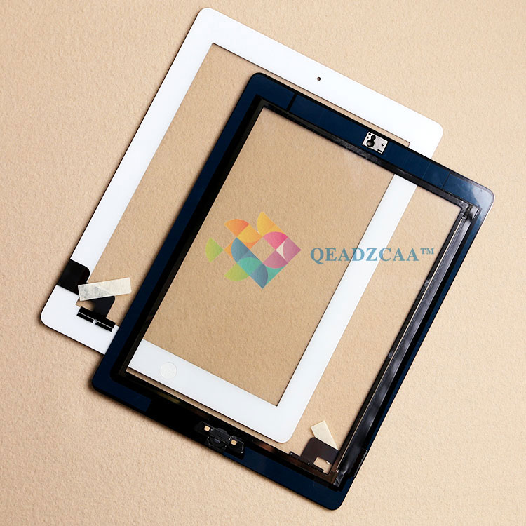 100% Tested High Quality Black Touch Screen Digitizer Assembly With Home Button For iPad 2 Free Shipping<br><br>Aliexpress