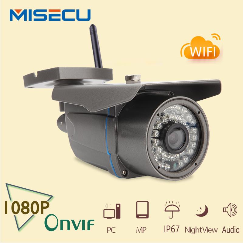 MISECU ip camera wifi audio 2MP 1080P HD Wireless Wifi IP camera ONVIF IP Cam Night Vision In/Outdoor Camera Security IP CCTV(China (Mainland))