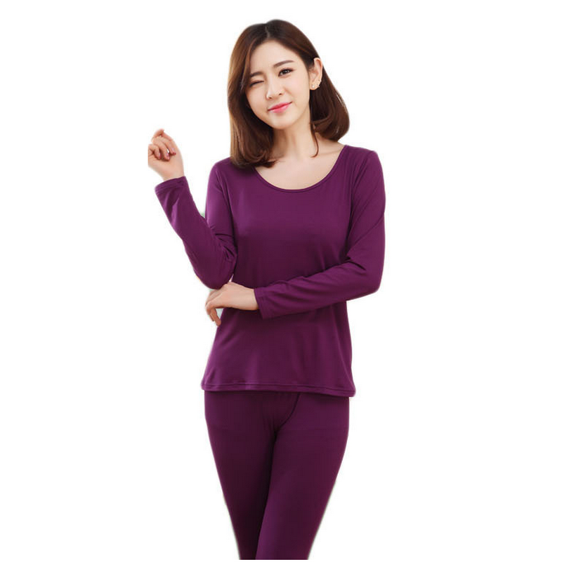 New 2015 Autumn Winter thermal underwear Long Johns Keep Slimming Underwear Women thermos clothing cardigans L XL XXL(China (Mainland))