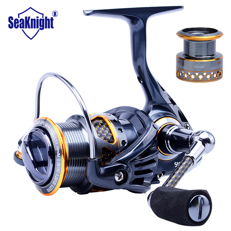 seaknight best aluminum spool spinning fishing reel