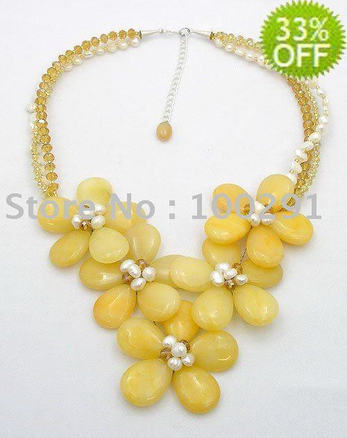 Factory direct sale//!!! Fashion Elegant Freshwater Pearl Necklace wedding&life&party&gift Costume Womens' Jewelry(China (Mainland))