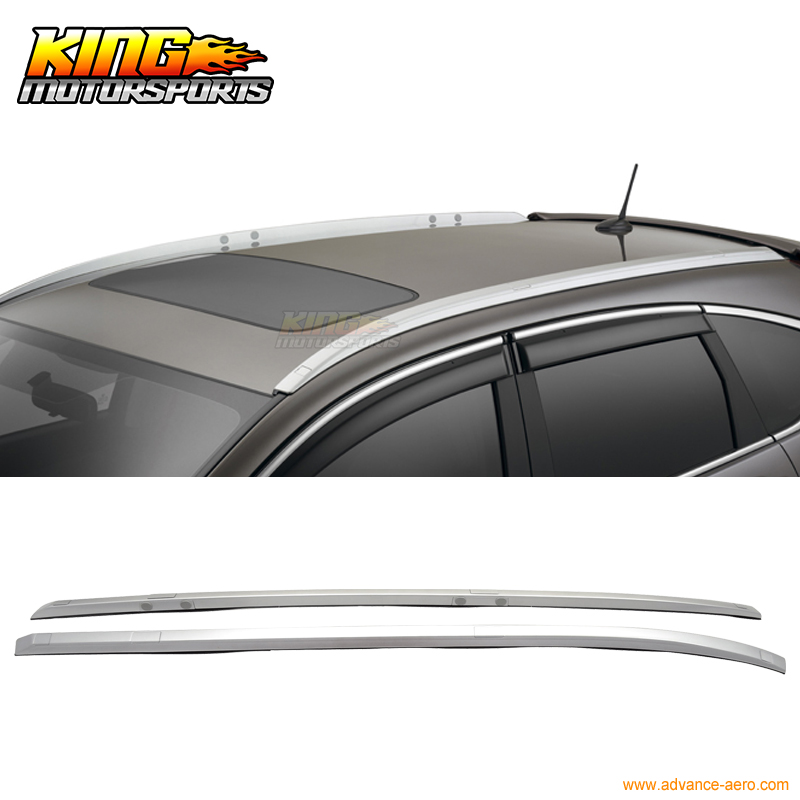For 12 13 14 15 Honda CRV OE Factory Style Roof Rack Rail Bar Black Polish(China (Mainland))