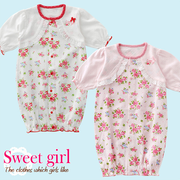 Baby clothes female baby clothes summer 0 - 6 0-1 year old baby clothes 100% cotton small floral print cloth