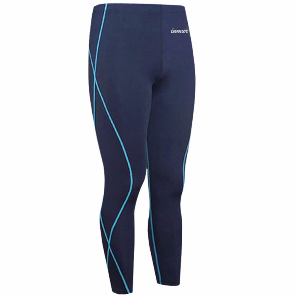 New Arrival 2015 Running Pants Men Running Tights Bodybuilding Training Fitness Sports Pants Spandex Athletic Trousers