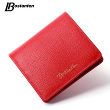 Buy Bostanten 2017 New Genuine Leather Wallet Women Luxury Brand Small Wallet Female Hasp Card Holder Short Lady Coin Purse Fashion for $12.99 in AliExpress store