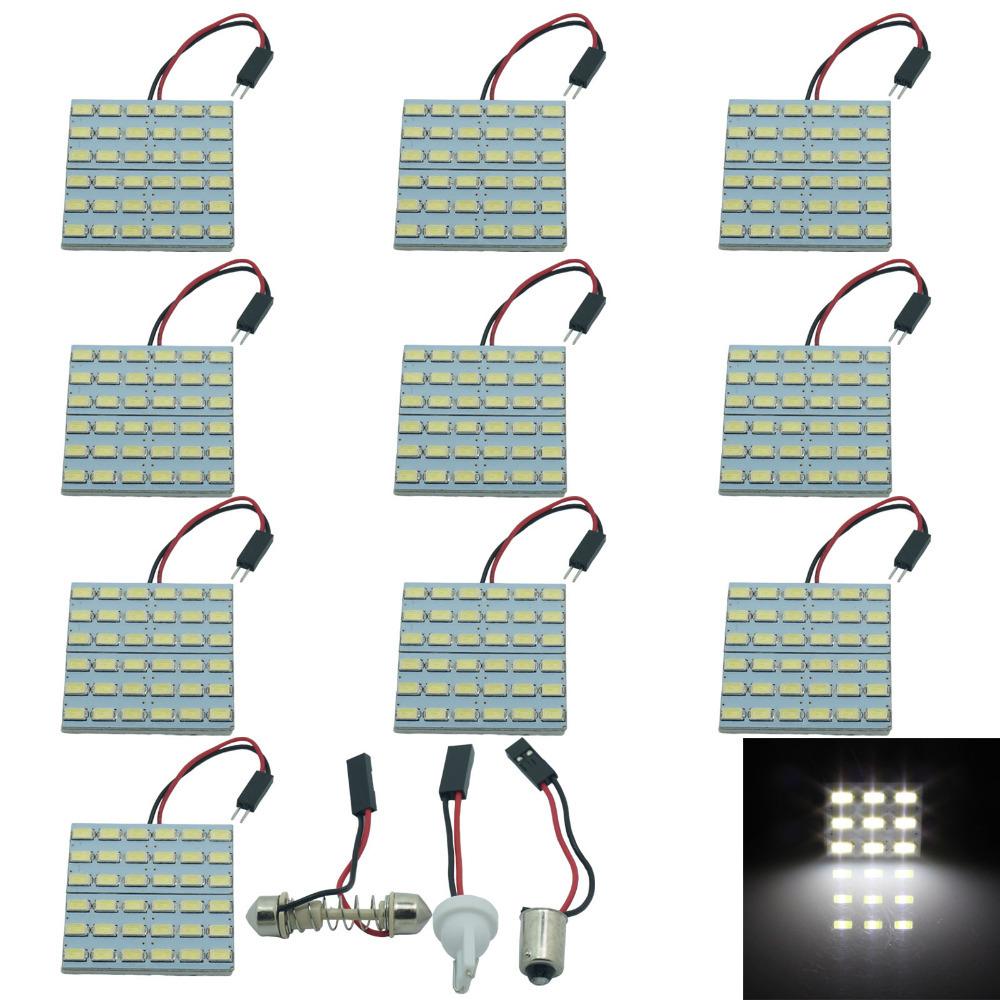10PCS White 36 5630 SMD LED Festoon Dome/Door/Box Light Panel Interior Bulb(China (Mainland))