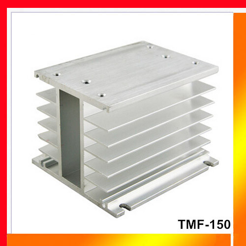 TMF-150 aluminum SSR heat sink radiator for 20 -150A three phase SSR solid state relay heatsink H type heat dissipation(China (Mainland))