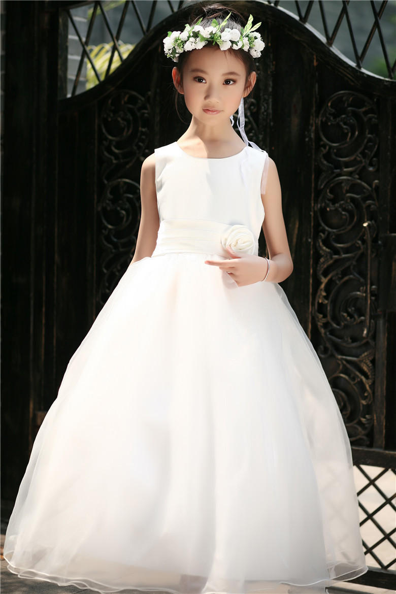 New 2015 summer toddler teenage girls wedding party for Wedding dresses for young girls