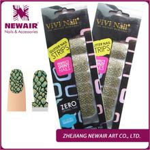 Hot Sale Shiny Lattice New Design Nail Polish Strips Fashion Nail Art Decorative high quanlity fingernails