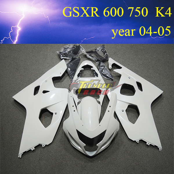 Aftermaket ABS injection mold Motorcycle Fairing kit for Suzuki GSXR600 / 750 K4 2004 2005(China (Mainland))