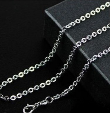 Korea antique silver necklaces for men & women alloy lover chain(China (Mainland))