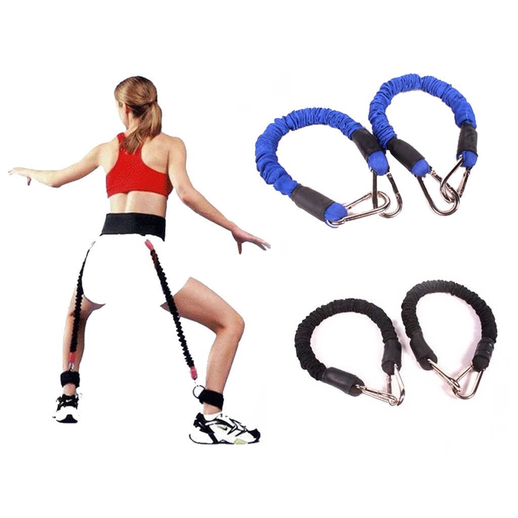 Resistance Band Fitness Bounce Trainer Rope Basketball Tennis Running Jump Leg Strength Agility Training Strap Fitness Equipment(China (Mainland))