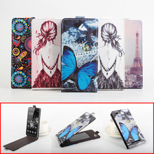 Buy Fashion Colorful Pattern Vertical PU Leather Case Doogee Homtom HT6 Flip Back Cover Homtom HT6 Magnetic Protective Shell for $7.02 in AliExpress store