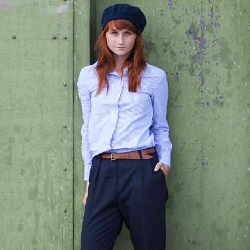 Plus Size S-XXXL,New Brand Formal Cotton Blouses Shirt Women Fashion Women's Black Stripe Slim Work Tops Shirts Long Sleeve 3092(China (Mainland))