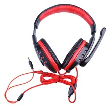 Pro Skype Gaming Headset Game Stereo Headphones Earphone w/ Mic For PC Computer Laptop Gaming Headphones