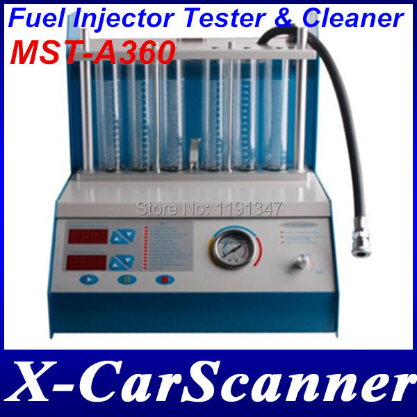 Fuel Injector Tester & Cleaner MST-A360 MST A360(China (Mainland))