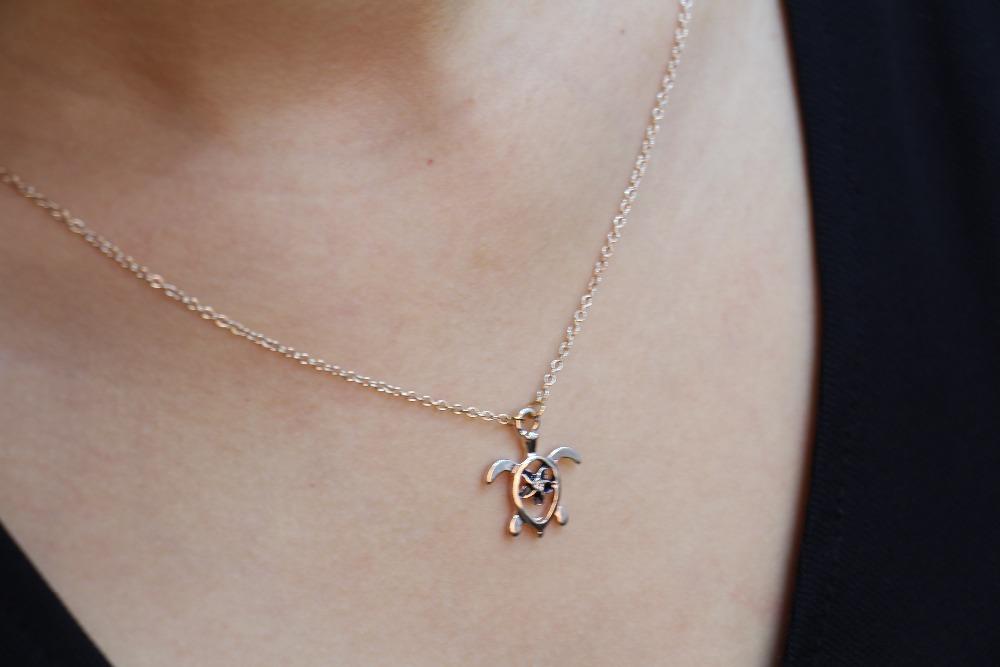 Fashion animal tortoise necklaces, 18k Gold Plated/Silver Plated/Rose Gold Plated necklaces for women wholesale free shipping(China (Mainland))