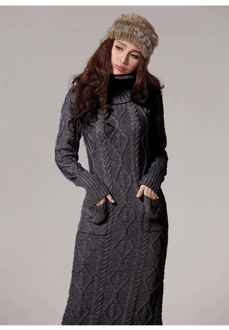 Buy New Winter Sweater Dress With High