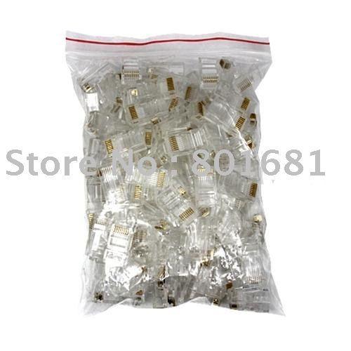 RJ45 Plug Cat5E Rj-45 Lan Connector Network/Cat5E Modular Plugs(Packing will be 922bags(50 per small bag)
