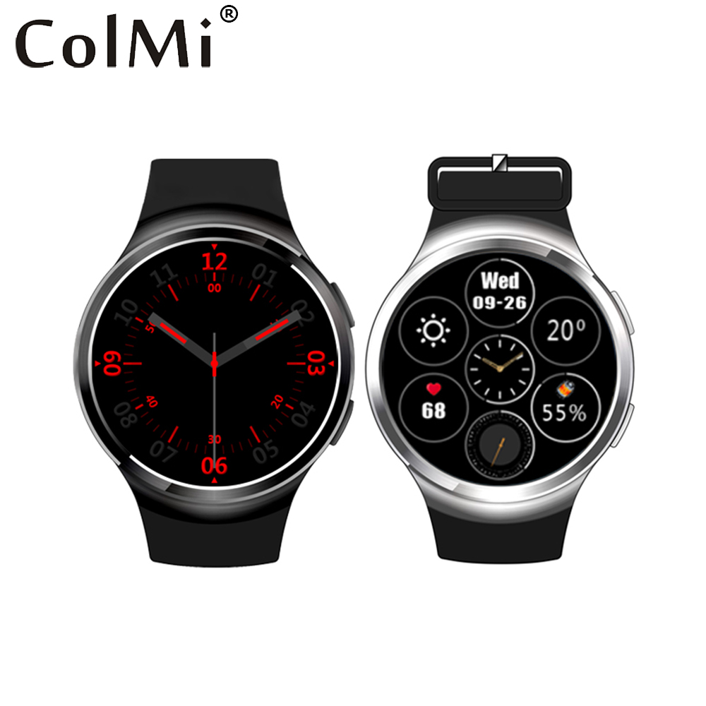 ColMi Bluetooth Sync Smart Watch VS109 With GPS WiFi 3G Network 1G RAM+4G ROM MTK6580 Android 5.1 Systerm SIM Card Smartwatch(China (Mainland))