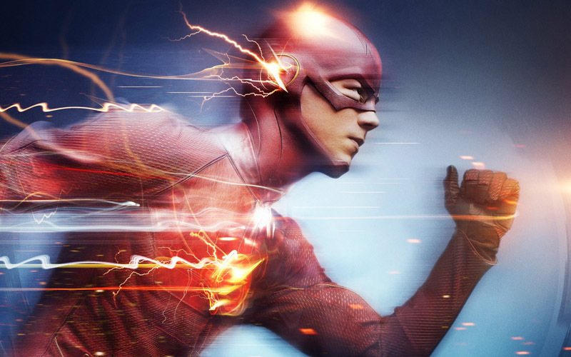2015 New The Flash Barry Allen TV Poster 40x60cm Home Decor Poster shipping free Free Shipping(China (Mainland))