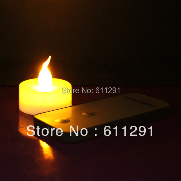 52% Cheap!!! Flameless LED Candle Tealight with Remote Contro, Top selling Factory Price (50 pcs+2 remote)(China (Mainland))