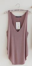 Loose Design Vest Deep V Neck Tank Tops For Woman Ladies Modal Sleeveless Shirt Summer Basic Tops & Tees Black gray Orange Pink(China (Mainland))