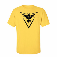 Pokemon Go Team Valor Team Mystic Team Instinct Pokeball Woman T shirt Shirt Tee Pokemon Shirt Red Blue Yellow Black Teem S-3XL