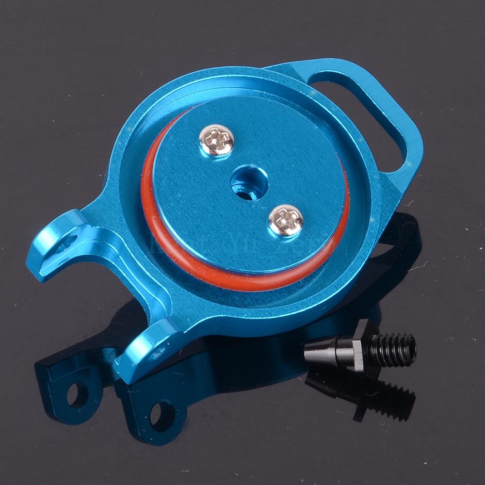 Aluminum Fuel Tank Cover (AL) 102059 122059 Blue For RC 1/10 02004 HSP Redcat Himoto
